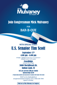 Tim Scott event
